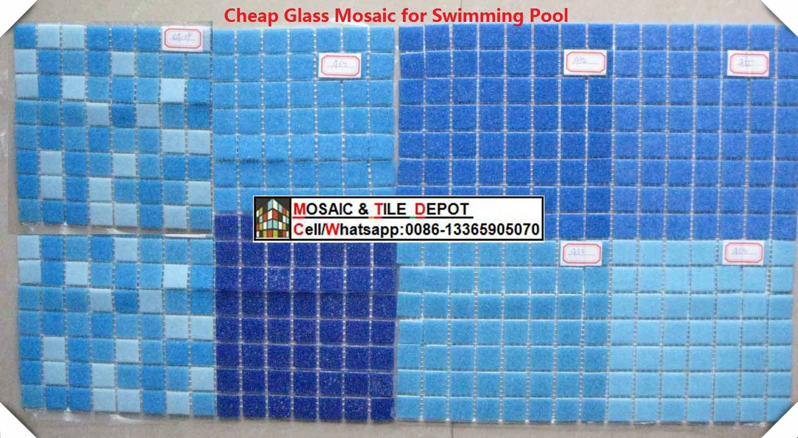 Glass Mosaic for Swimming Pool, Swimming Pool Pattern ...