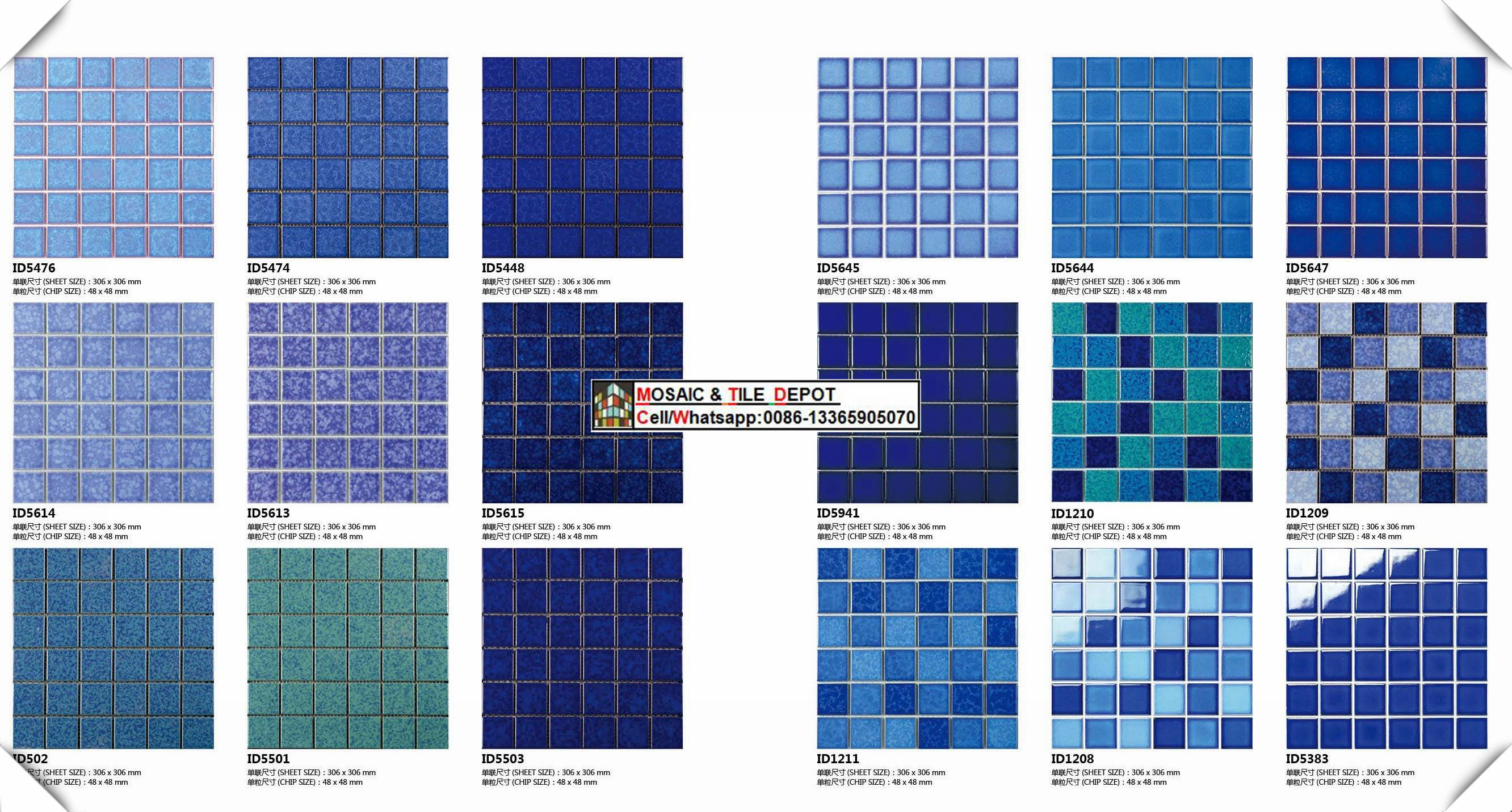 Swimming Pool Mosaic,Pool Tile from China - StoneContact ...