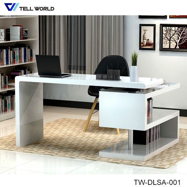 Corian Modern And Simple Office Desk Workstation Table
