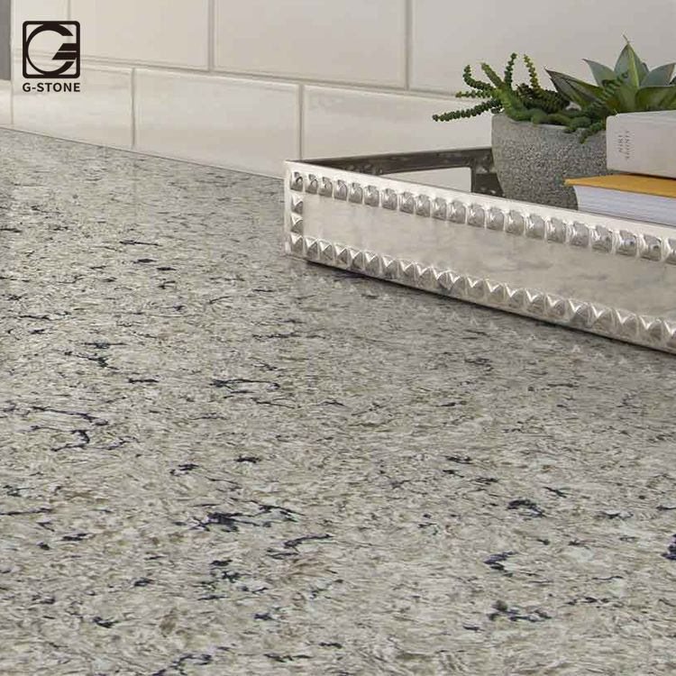 Antico Artificial Quartz Stone Flooring Tile From China