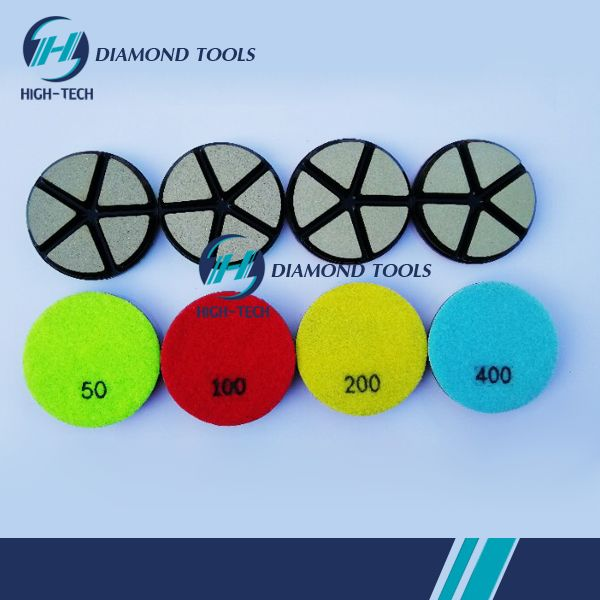 HIGHTECH 3 inch Diamond Concrete Stone Floor Polishing Pads.jpg