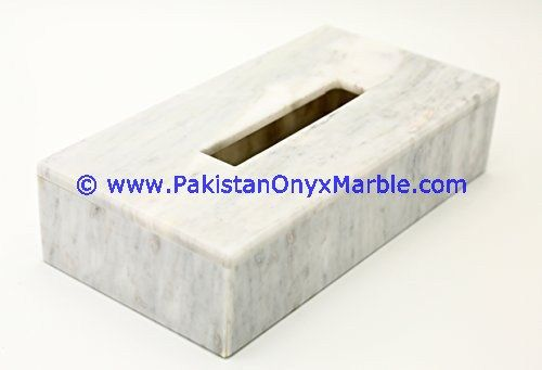 Marble Tissue Box Cover Holder From Pakistan