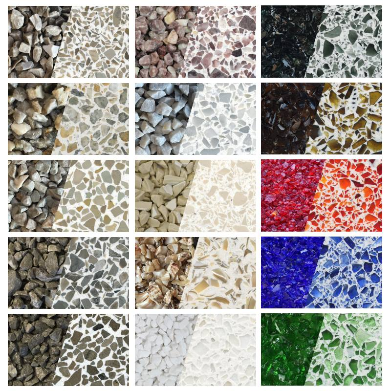 Precast Terrazzo Tiles Terrazzo Slabs From United States